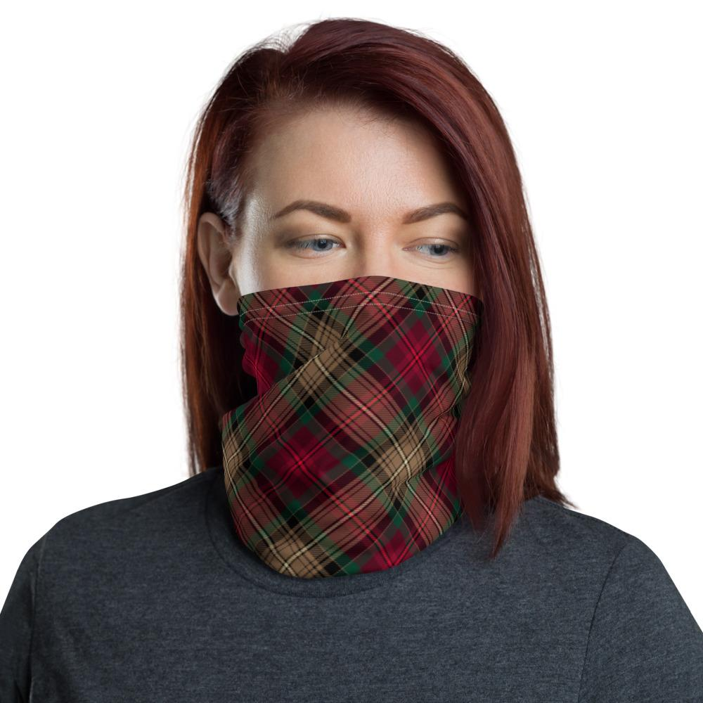 Declaration of Arbroath 7th Centennial Anniversary Tartan Neck Gaiter Small Sett Pattern