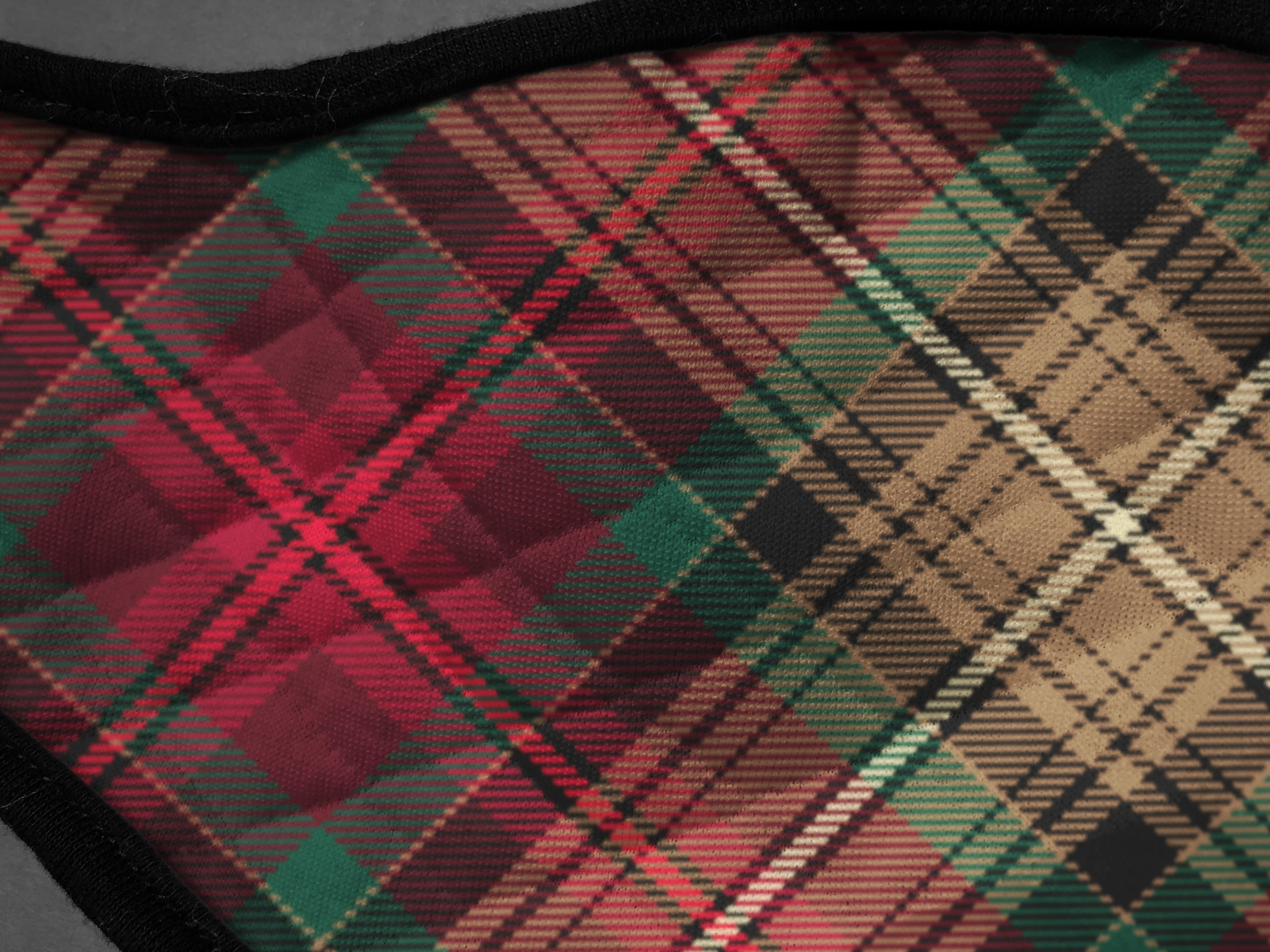 The Declaration of Arbroath 7th Centennial 700th Anniversary face mask cloth covering Nicola Sturgeon - by Steven Patrick Sim the Tartan Artisan - Stevie Tartan Guy - exclusive designs