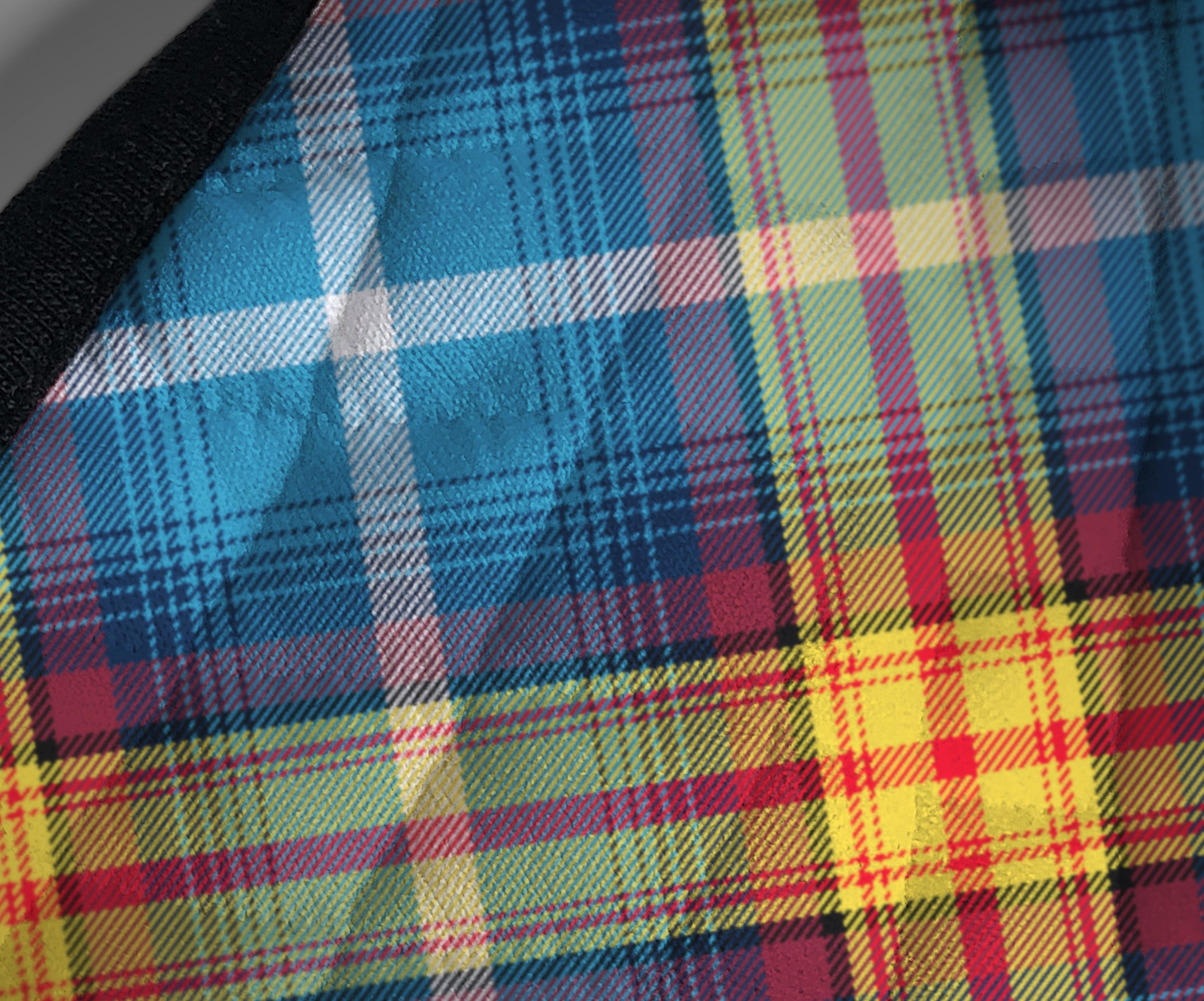 The Declaration of Scottish Independence Arbroath 6th April 1320 Contoured Tartan - Nicola Sturgeon - Scottish Saltire - Face Mask - exclusively produced by Steven Patrick Sim the Tartan Artisan - fabric