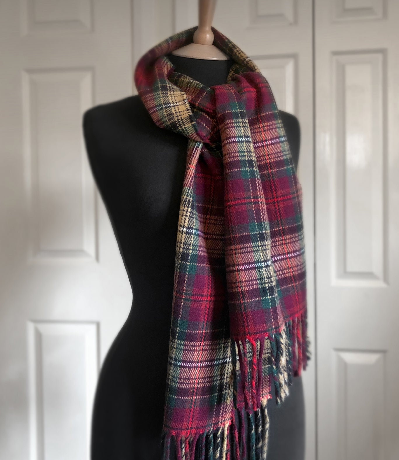 Declaration of Arbroath 7th Centennial Anniversary Merino Wool Scarf