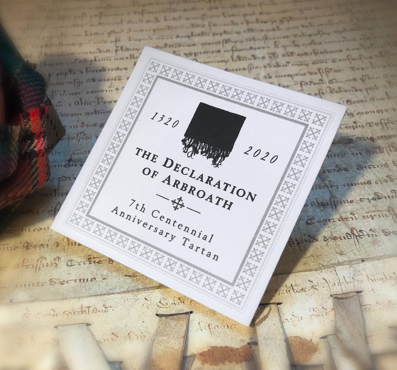 Declaration of Arbroath 7th Centennial Anniversary Tartan 4