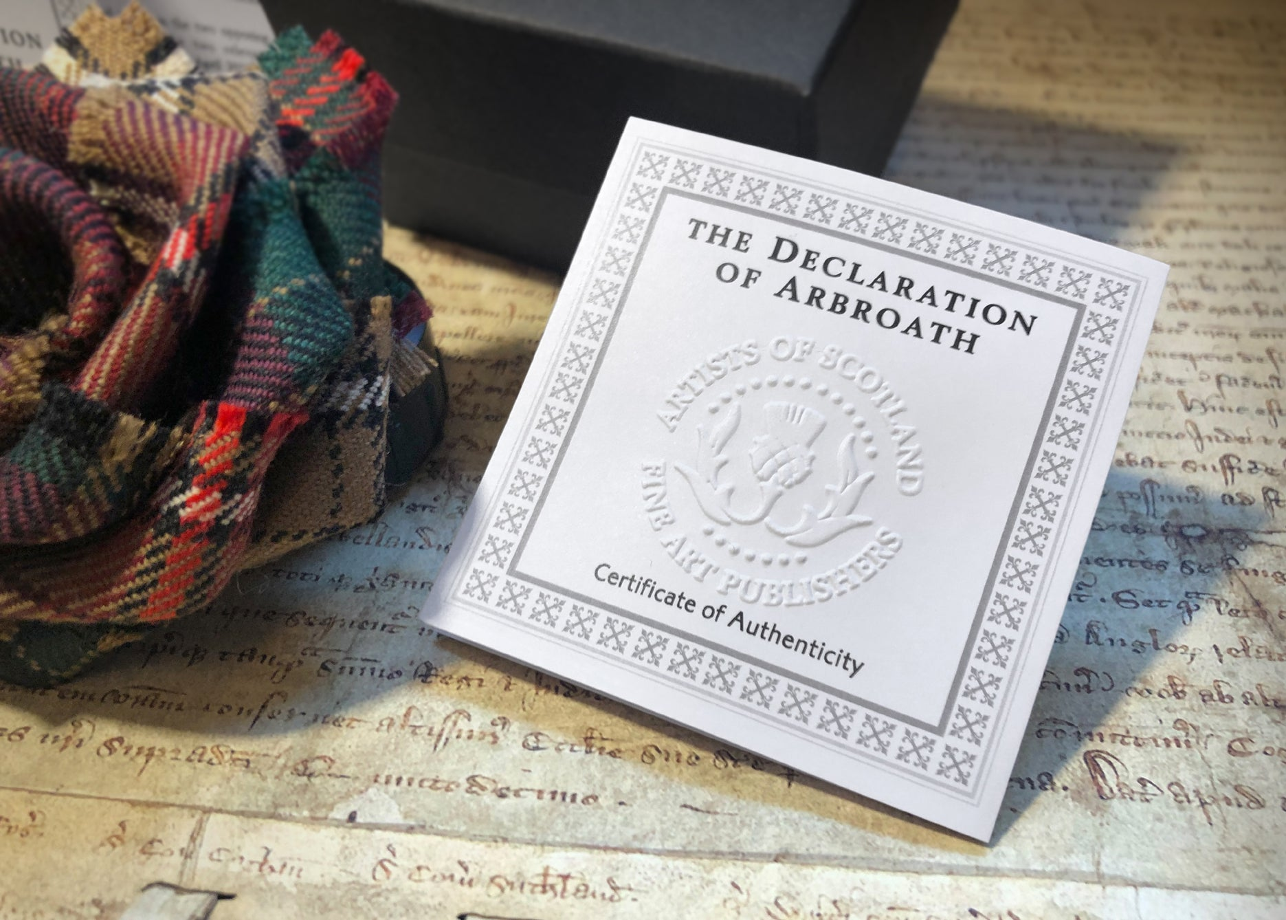 Declaration of Arbroath 7th Centennial Anniversary Tartan 7