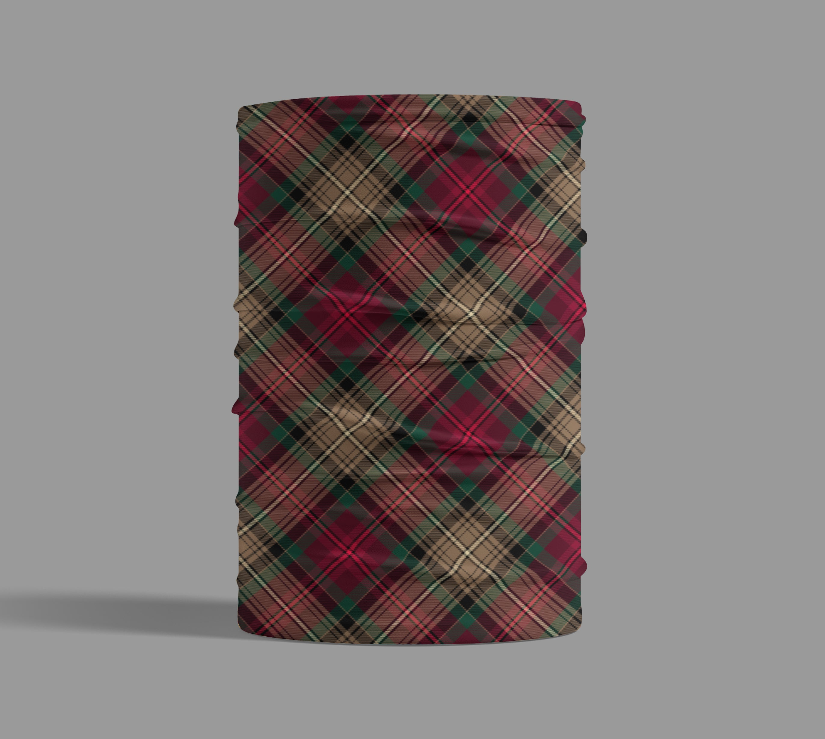 Declaration of Arbroath 7th Centennial Anniversary Tartan Neck Gaiter Small Sett Pattern for ladies and gents