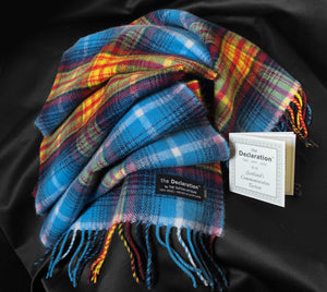 The Declaration Tartan Lambswool Scarf