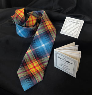 The Scottish Indy Tartan Tie, for Scottish Independence