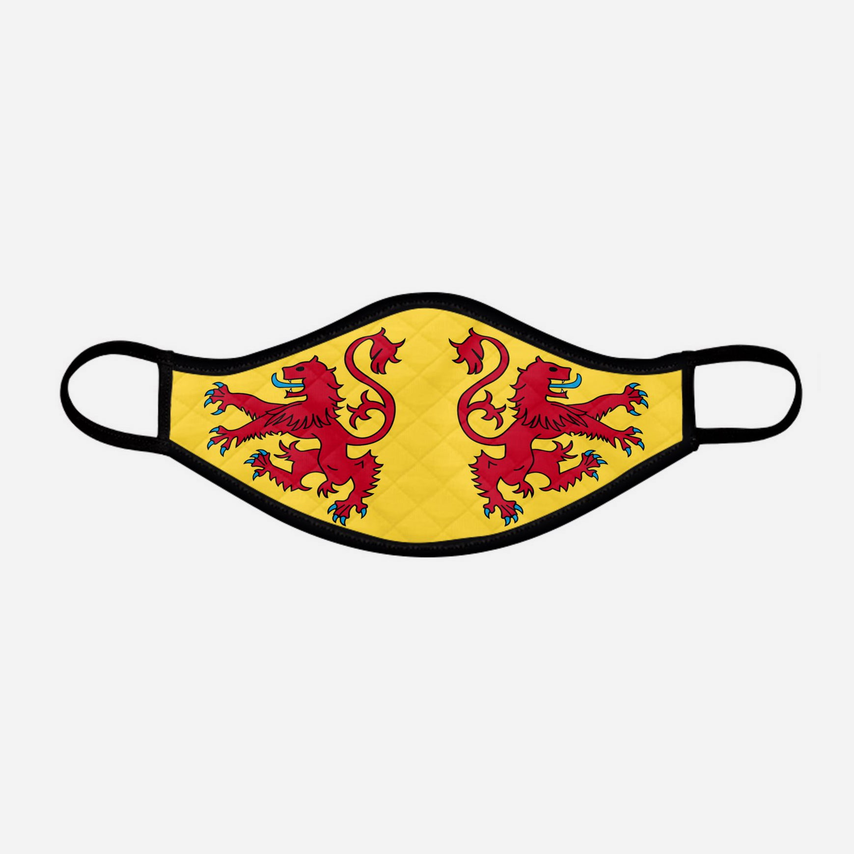 Lion Rampant of Scotland Face mask cloth covering small