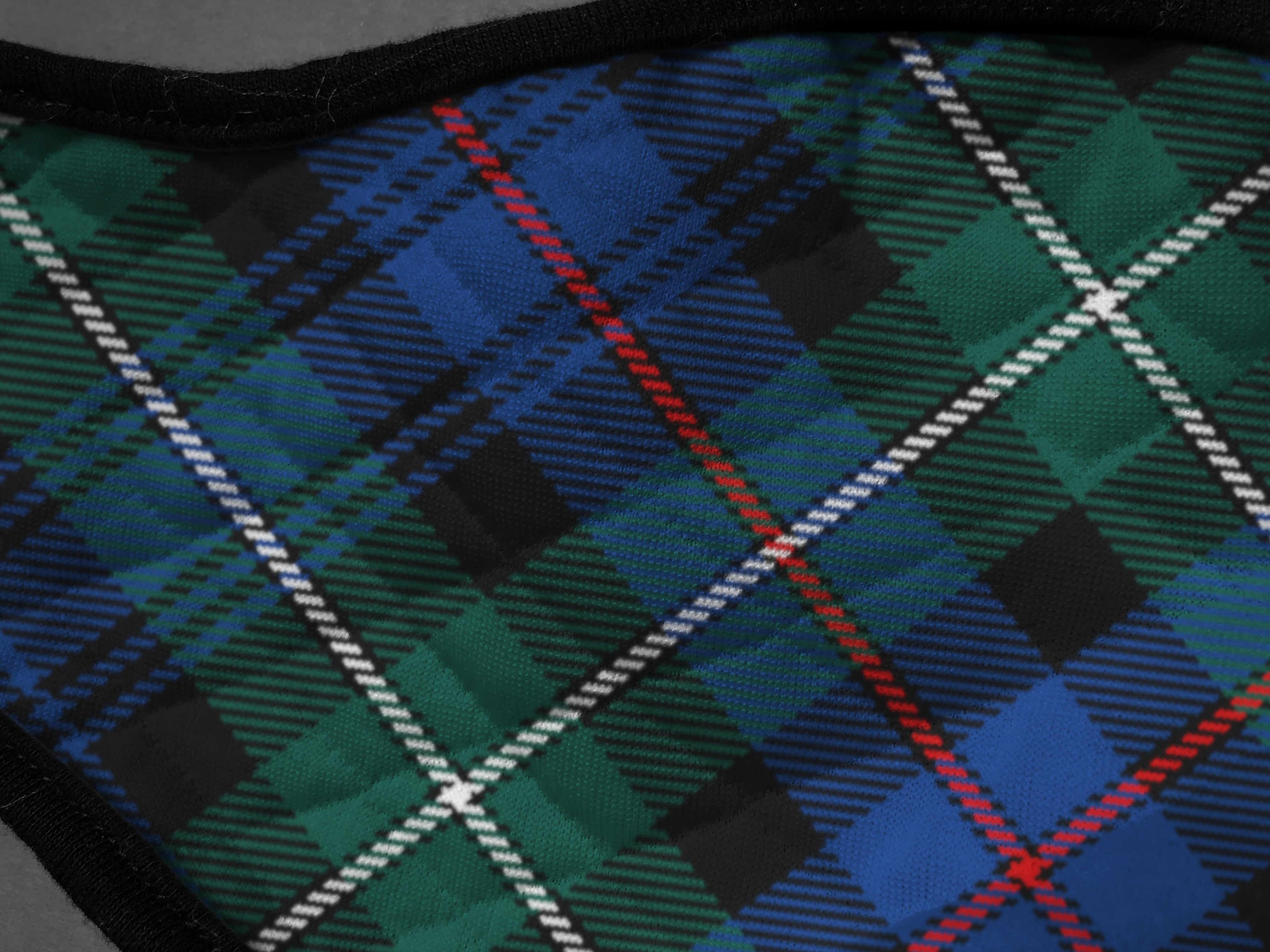 Mackenzie Tartan Face Masks by the Tartan Artisan Arbroath