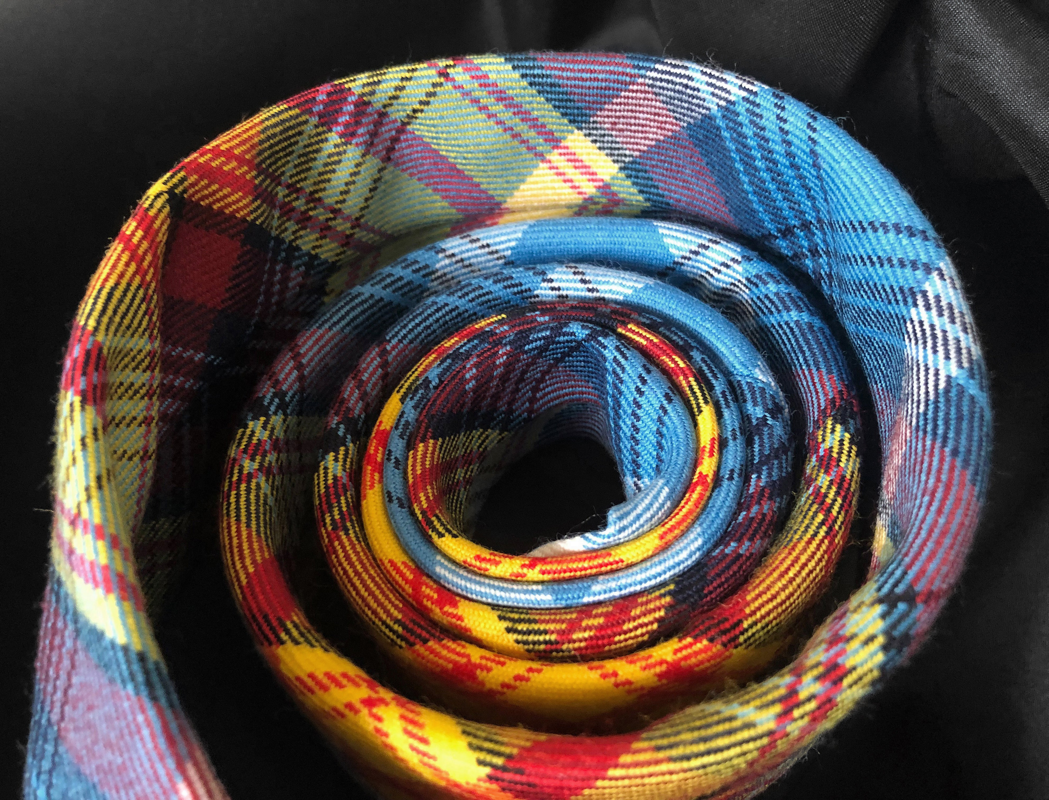 Pure New Wool Tartan Neck Tie