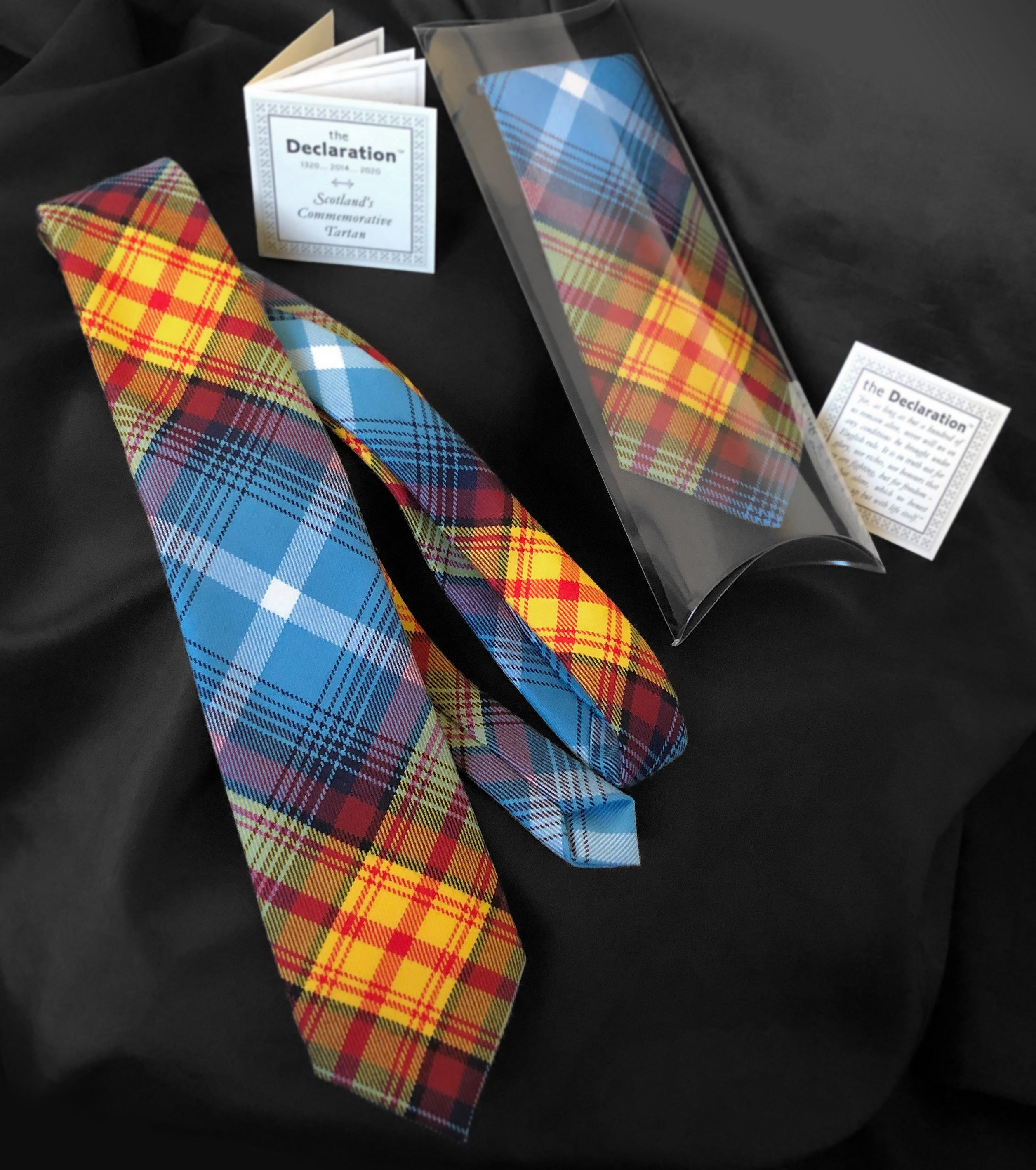 Scottish Freedom Tartan Tie