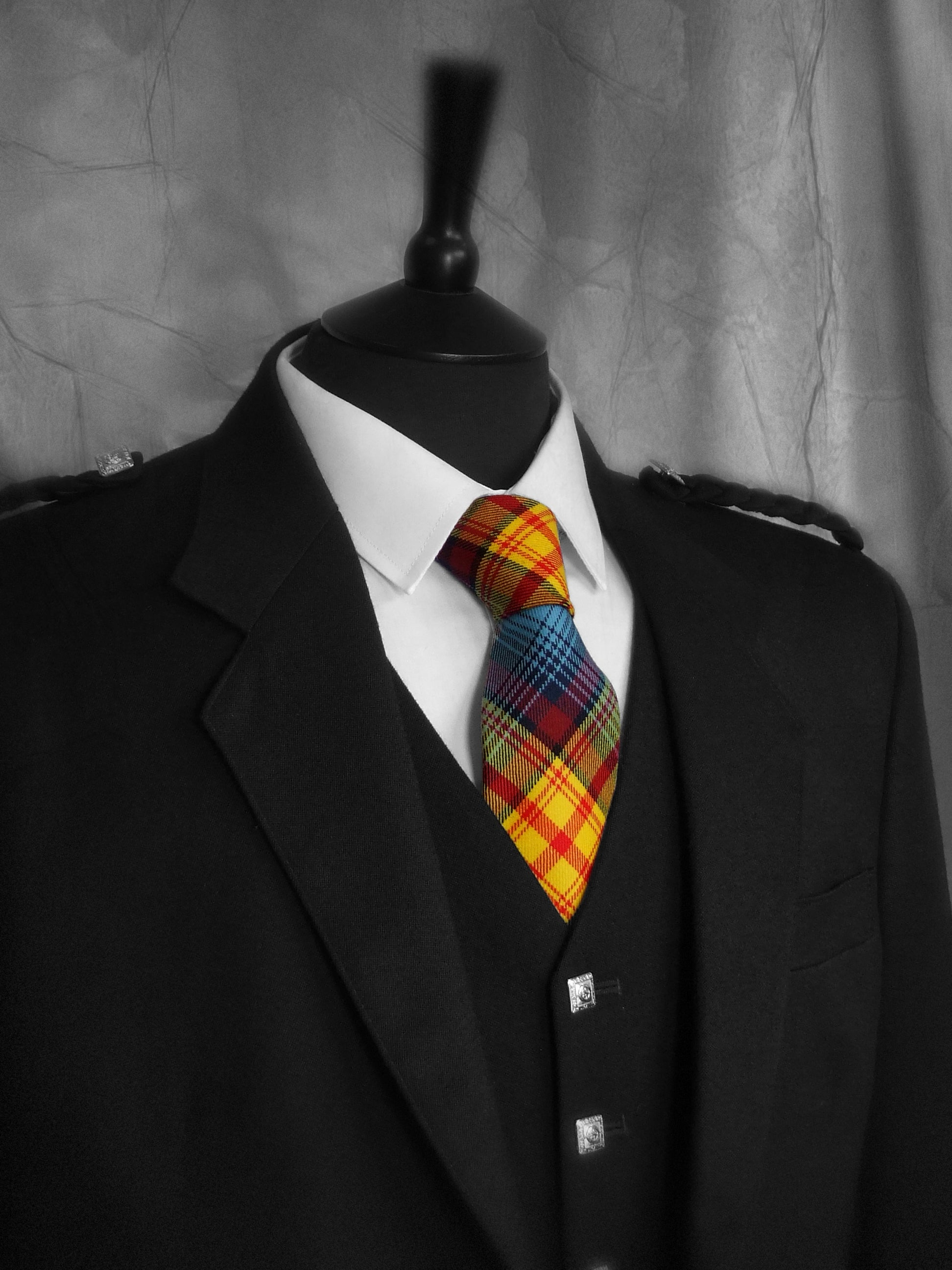 Scottish Independence Tartan Tie