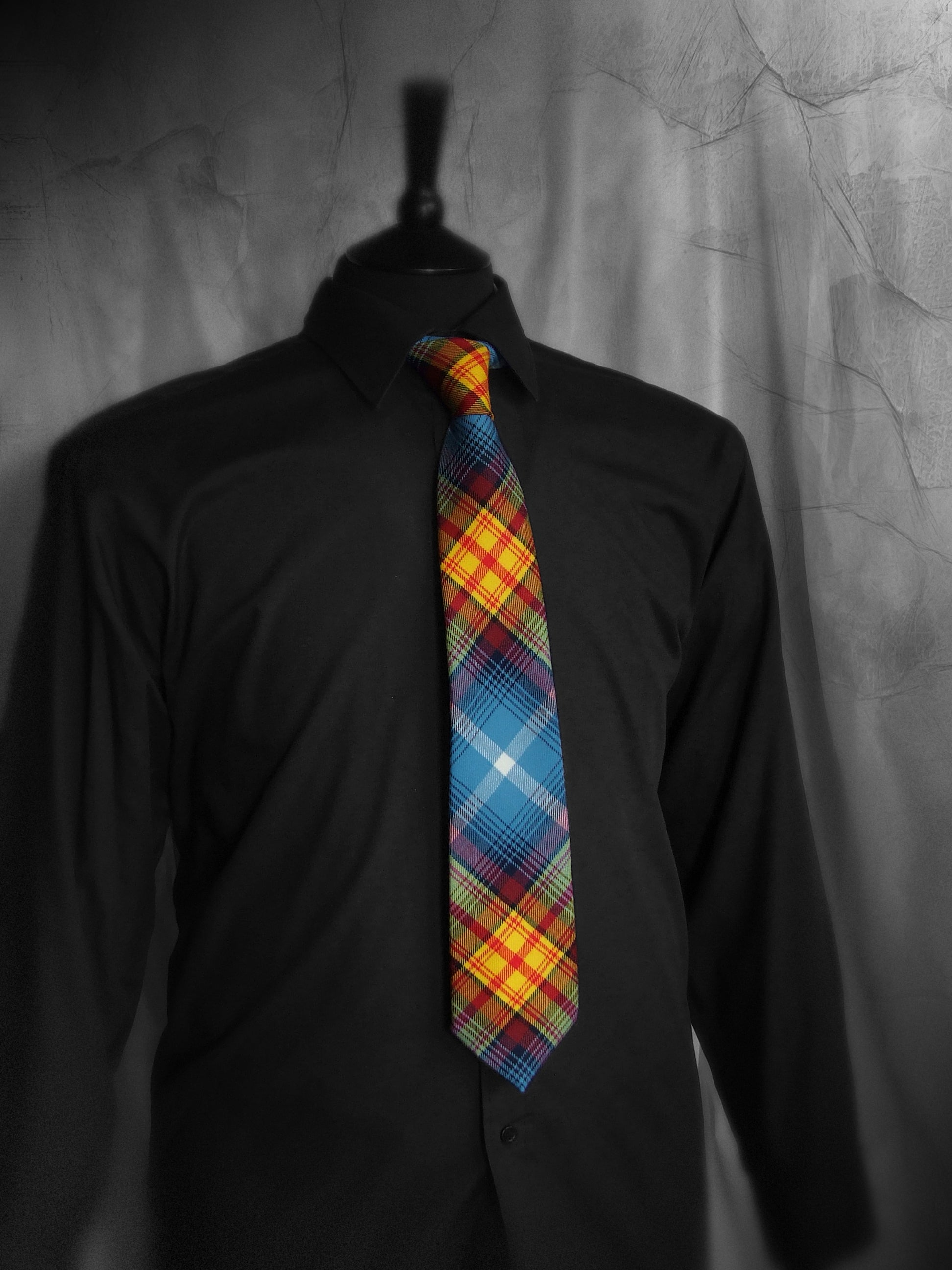 Scottish Indy Tartan Neck Tie