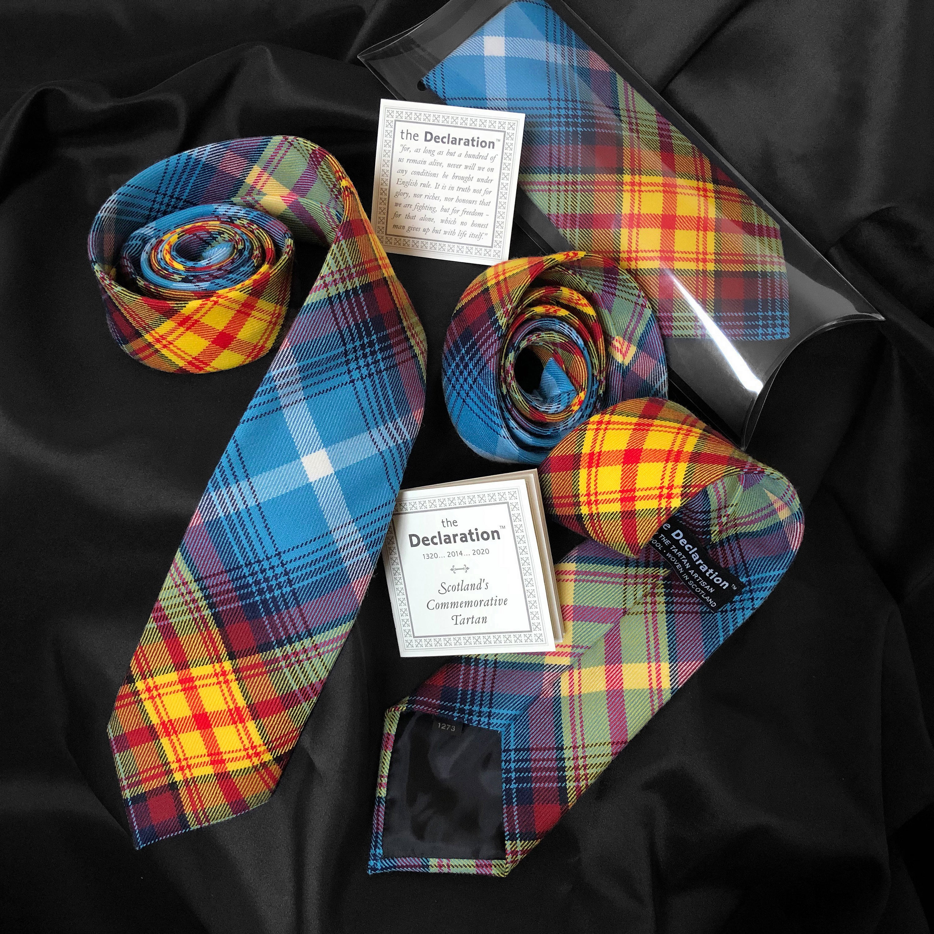 The Declaration Tartan Neck Tie