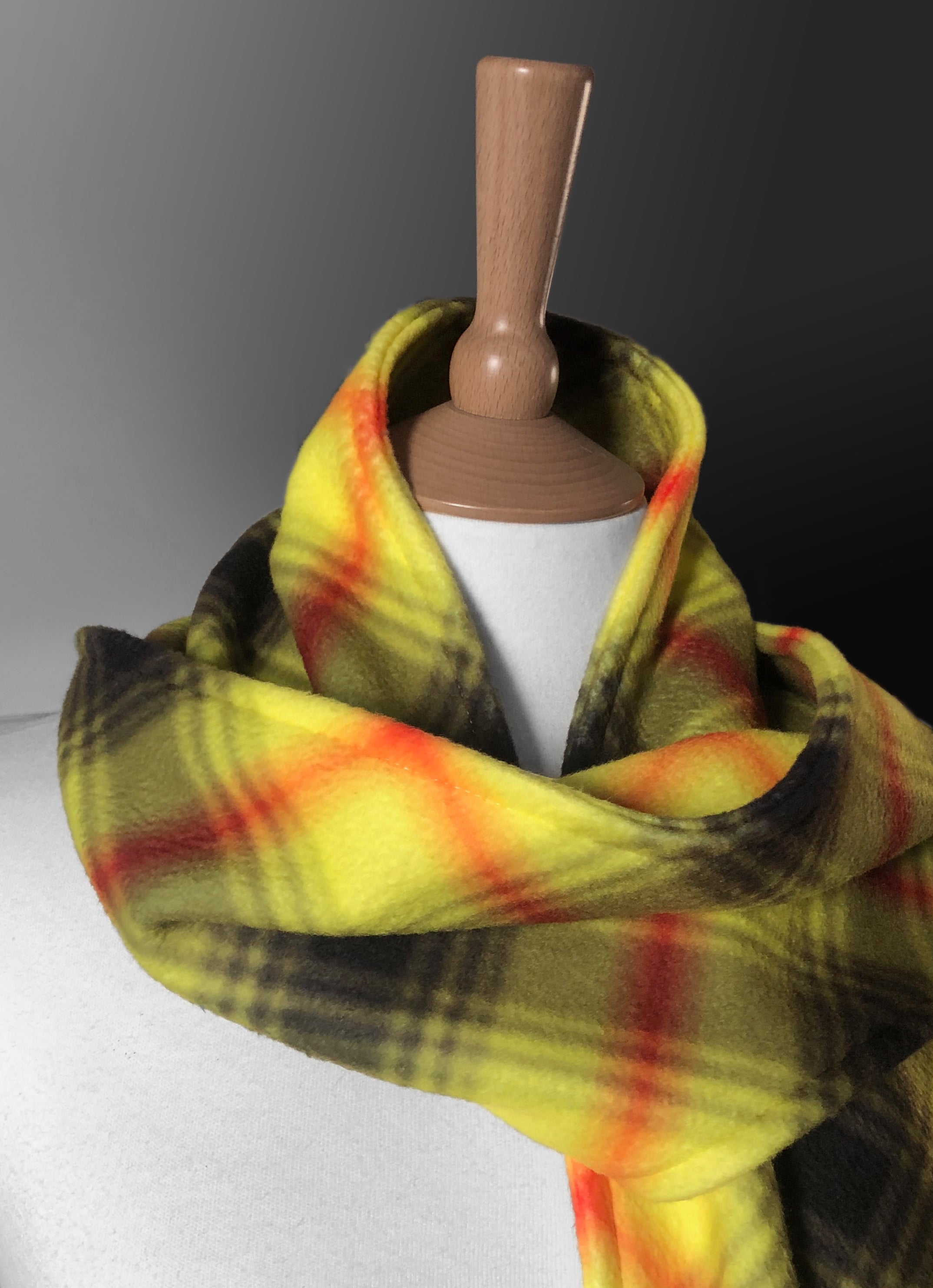 Steven Patrick Sim Be Aware Virohazard tartan - raising funds to support the fight against the Coronavirus