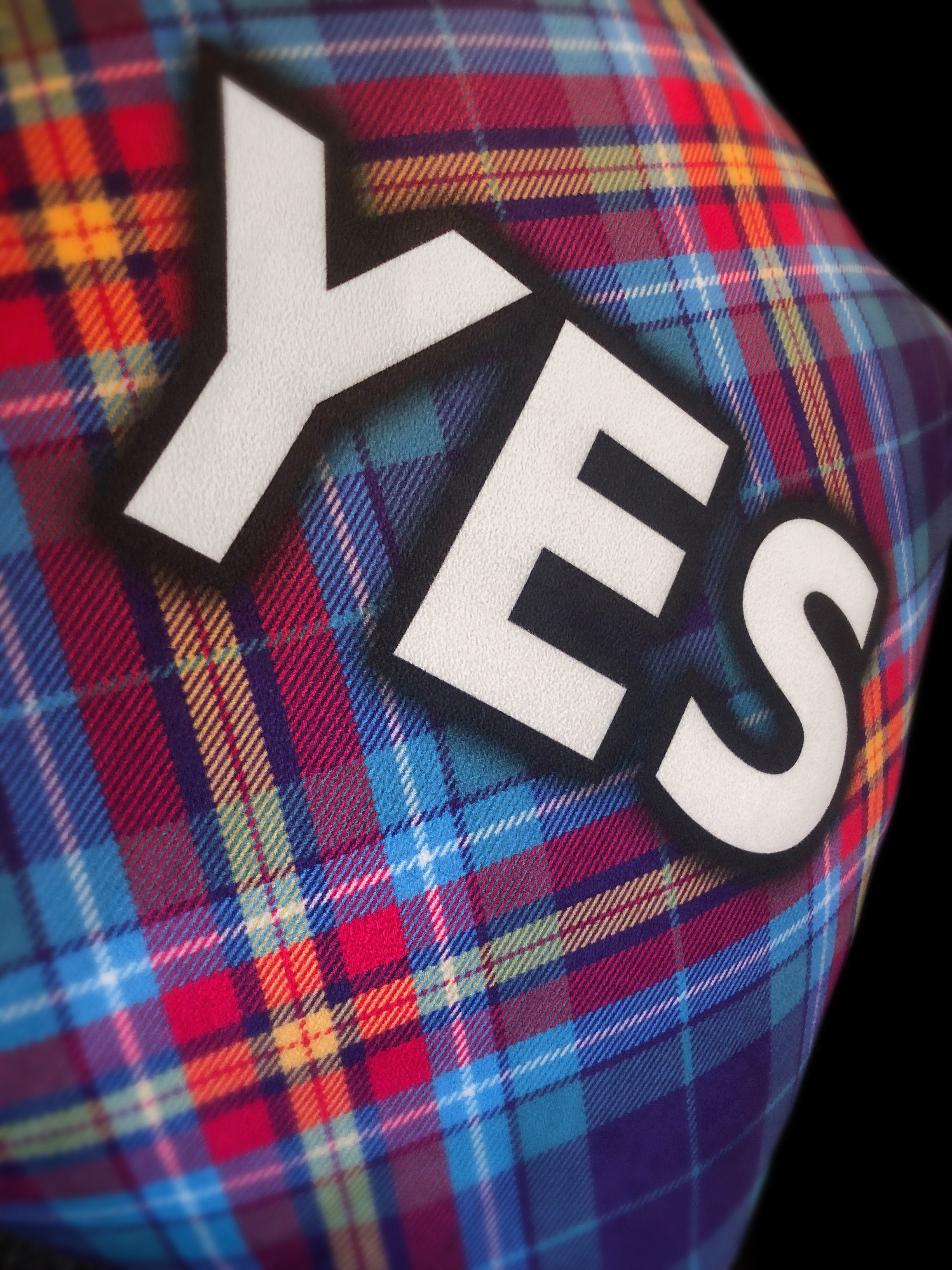 YES Tartan Cushion by the Tartan Artisan - Alba gu bràth