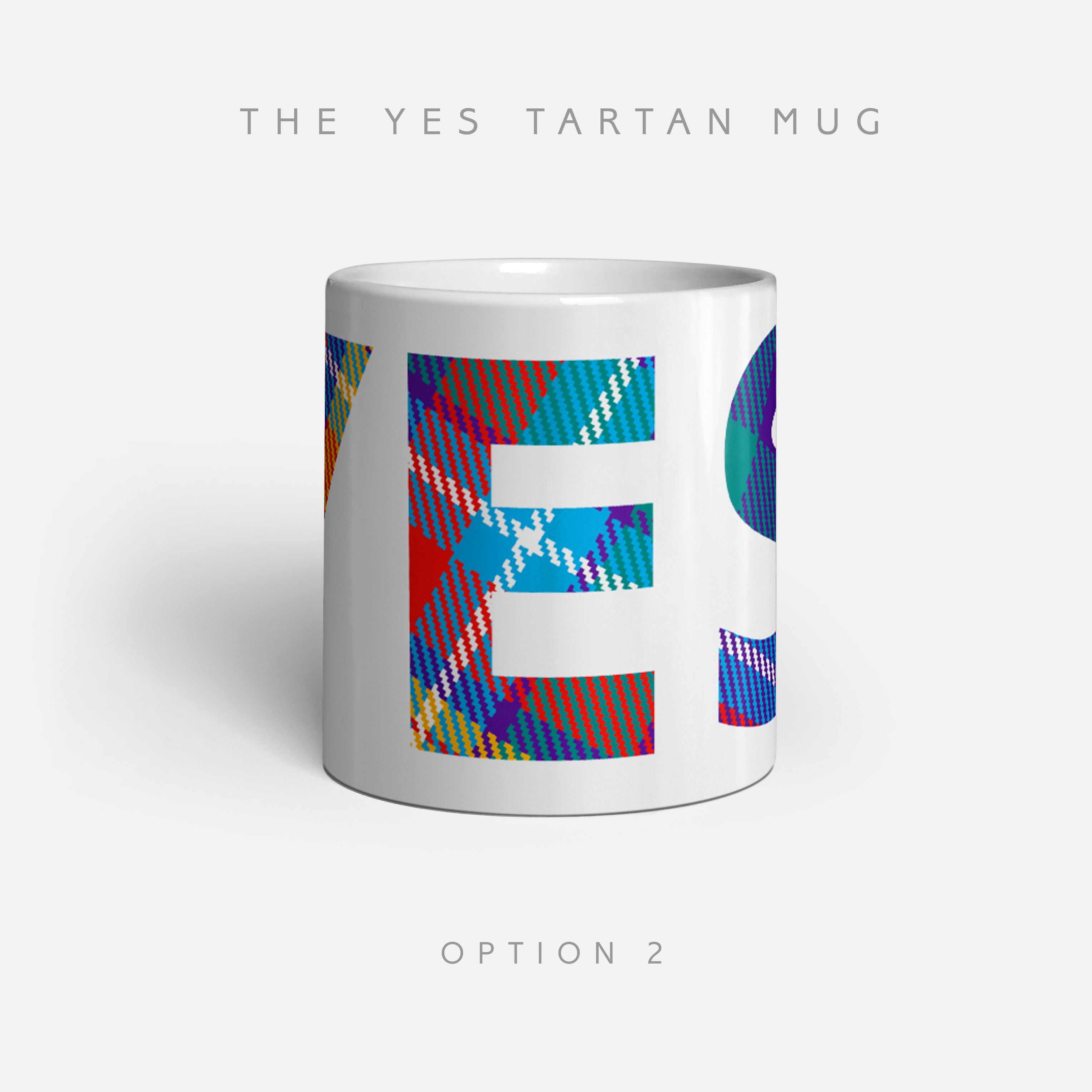 YES Tartan Mugs by the Tartan Artisan Steven Patrick Sim Arbroath