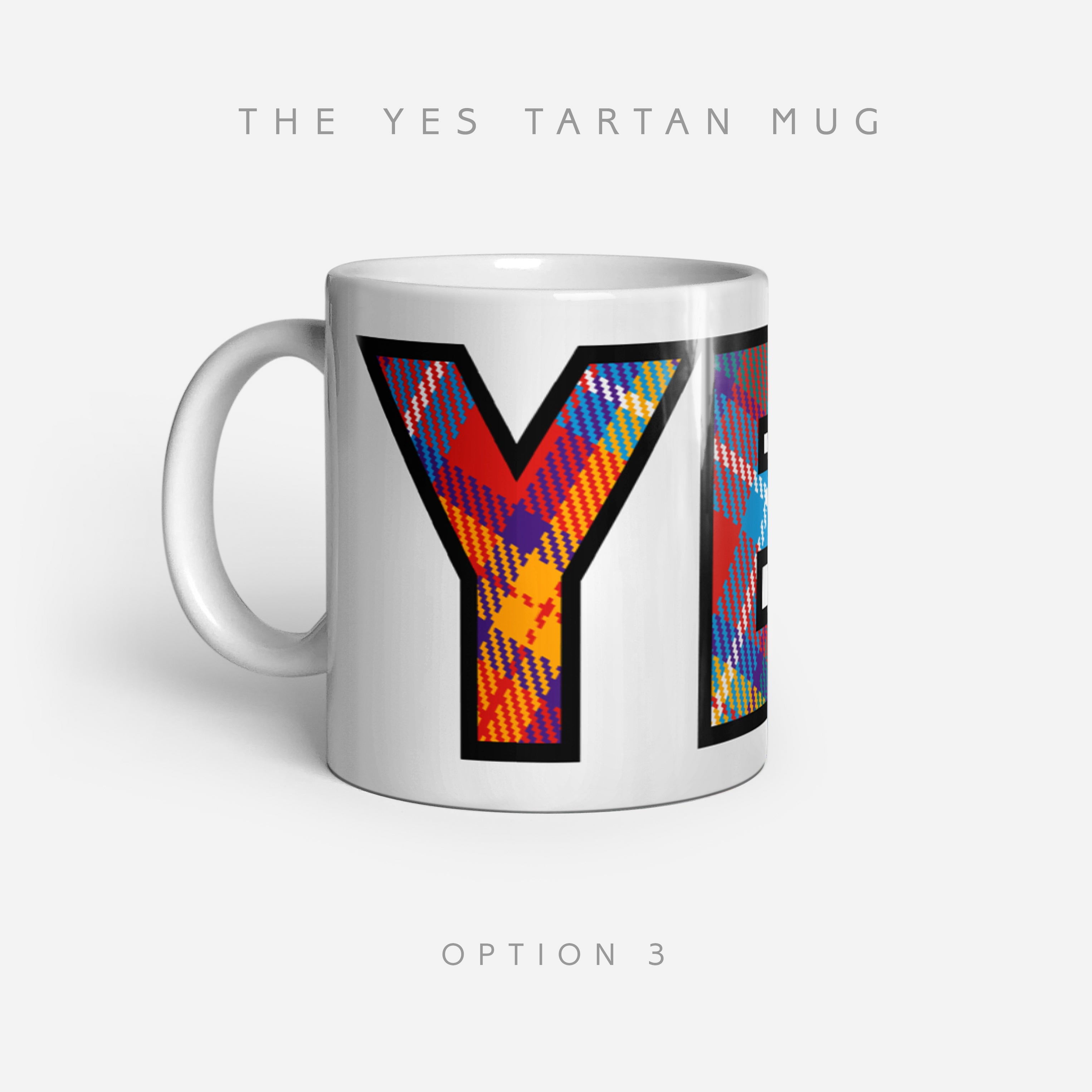 YES Tartan by Steven Patrick Sim - Alba gu bràth - The 11oz ceramic mugs