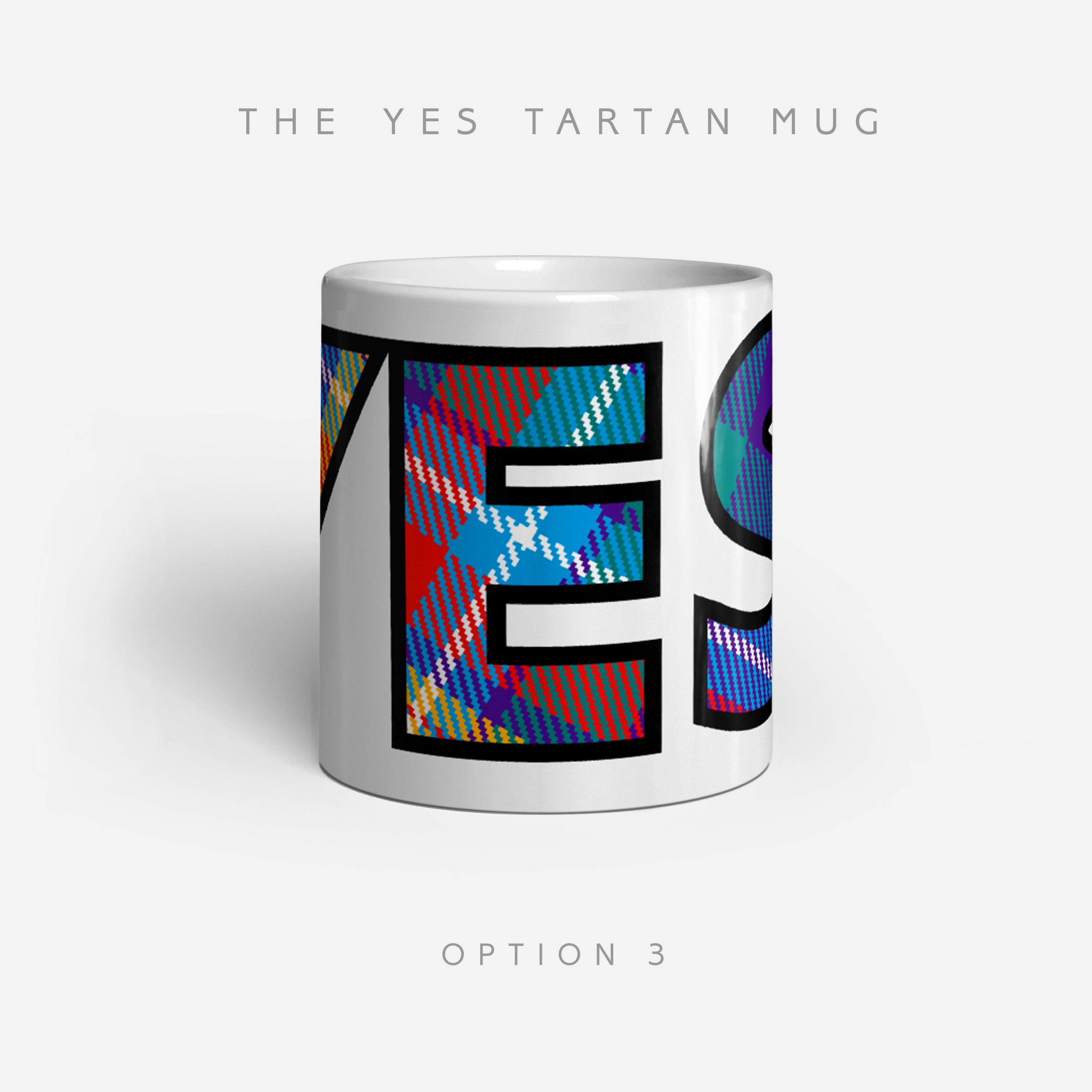 YES Tartan by Steven Patrick Sim - Alba gu bràth - drinkware mugs coffee tea