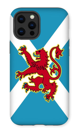 Ancient Azure Scottish Saltire & Lion Rampant ~ Phone Case (collection 1)