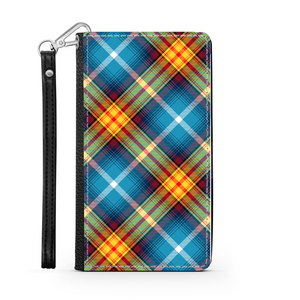 The DECLARATION Tartan ~ Faux Leather Wallet Phone Case