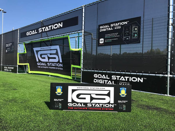Brøndby IF testing out the new GOAL STATION