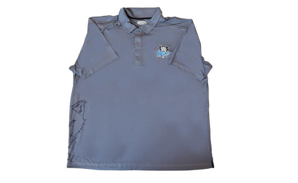 Silky Gray Wild Polo Shirt