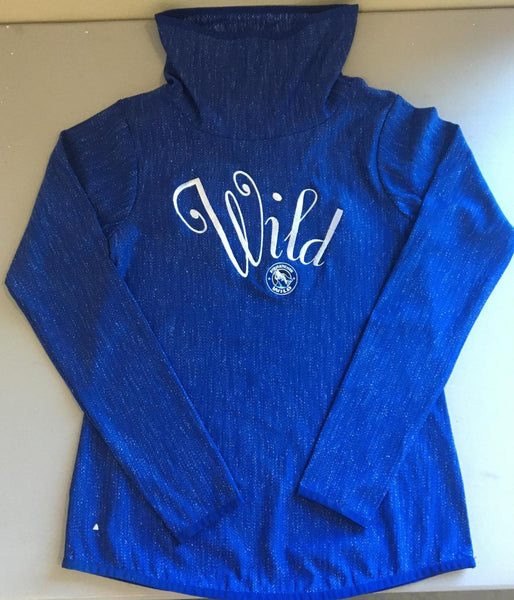 Women's Cowl Neck Equalizer - Royal