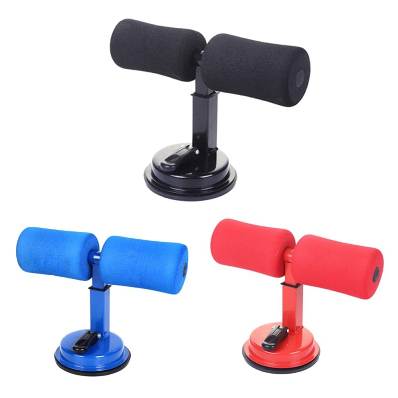 Sit Up Equipment Abdominal Muscle Trainer Fitness Suction Cup Sit-Up Cushion Sit Up Stand Bar