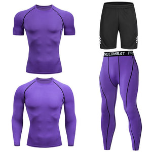 Men's  Running Set Tracksuit Sportwear
