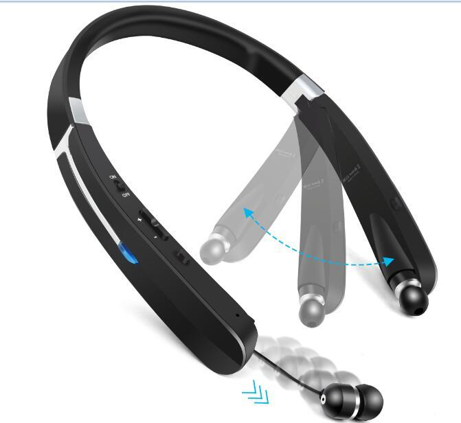 ea14d75aa97 TOPROAD Outdoor Sports Wireless Headphone Foldable Bluetooth Headset  Earphone Support Mic Handsfree Call Retractable Earbuds