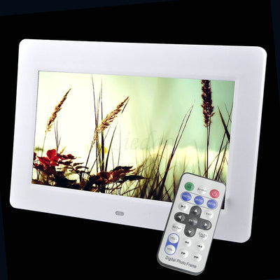 10.1 inch LED Backlight HD 1024 x 600 Digital Photo Frame Electronic Album MP3 MP4 Function