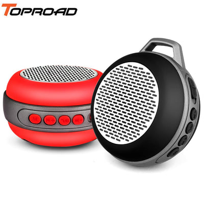TOPROAD Mini Bluetooth Speaker altavoces Portable Wireless Stereo Support FM Radio TF Handsfree Headphone Jack