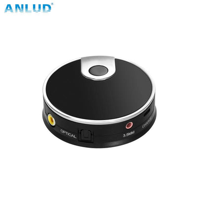ANLUD Wireless Audio Bluetooth Transmitter Digital Optical Fiber Toslink Adapter Stereo Music Stream Video Dongle
