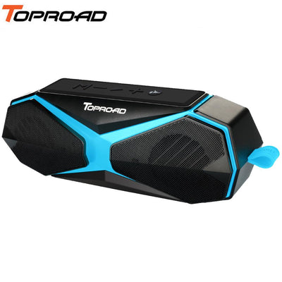TOPROAD Outdoor Waterproof Stereo Bluetooth Speaker Bass Sports Wireless Speakers Support Mosquito Repellent TF AUX Hands-free