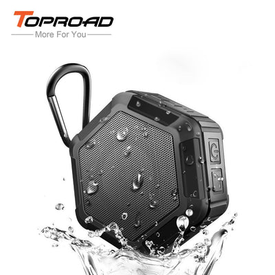 TOPROAD Waterproof Bluetooth Speaker Portable Outdoor Wireless Stereo Soundbox caixa de som Mini Loudspeaker MP3 TF FM