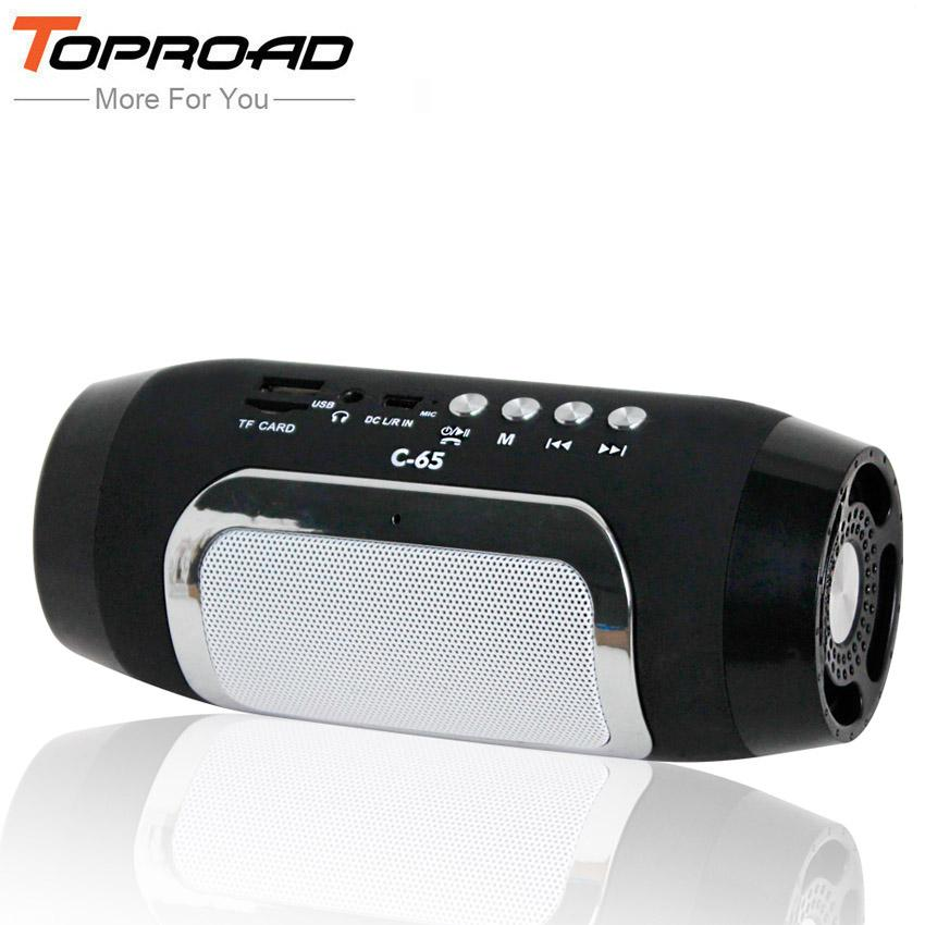 TOPROAD Bluetooth Speaker Wireless Column Colunas Loudspeaker Support TF FM Radio Soundbar