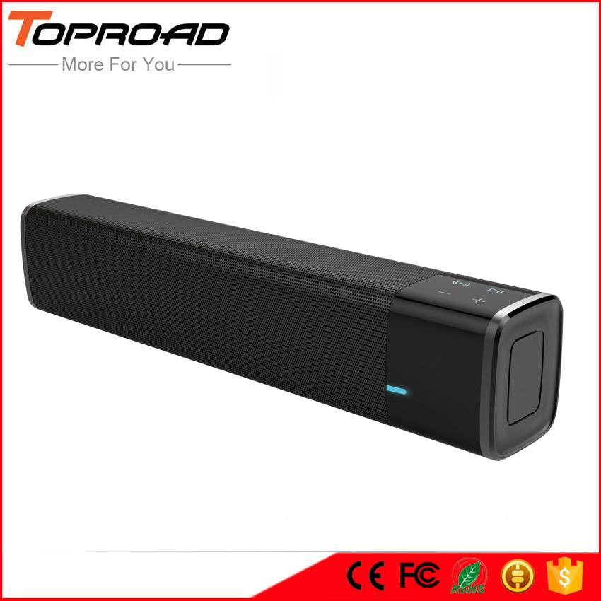 TOPROAD Portable 20w Wireless Bluetooth Speaker Soundbar Super Bass Stereo Loudspeaker with Touch NFC Speakers