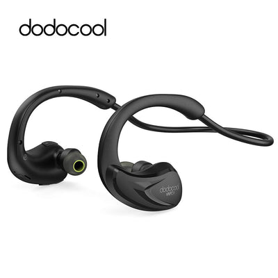dodocool Sweatproof Wireless Bluetooth Earphone in ear Apt-x NFC Sports Earbud Running stereo Headphone handfree for iphone 7 6