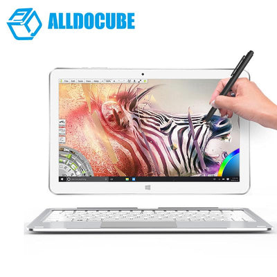 "ALLDOCUBE Mix plus 2 in 1 Tablet PC Windows10 OS 10.6"" 1920*1080 IPS intel Kabylake 7Y30 Dual Core 4GB Ram 128GB Rom Dual Camera"