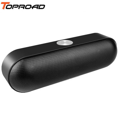 TOPROAD Portable Wireless Bluetooth Speaker Altavoz Stereo Boombox with Mic Support TF AUX FM Radio USB Hands-free Call