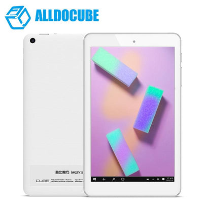 ALLDOCUBE iwork8 Air Pro 8inch IPS 1920*1200 Dual Boot Tablet PC Windows10 & Android 5.1 Intel Atom X5 Z8350 Quad Core 2GB 32 GB