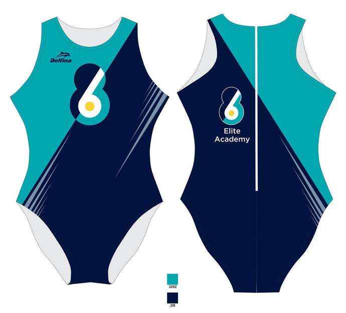 6-8 Elite Academy Female Water Polo Suit