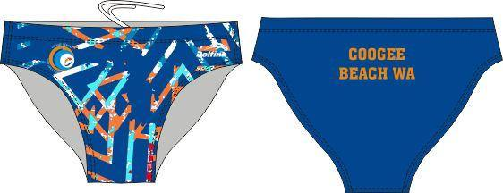 Coogee Beach Male Swim Brief