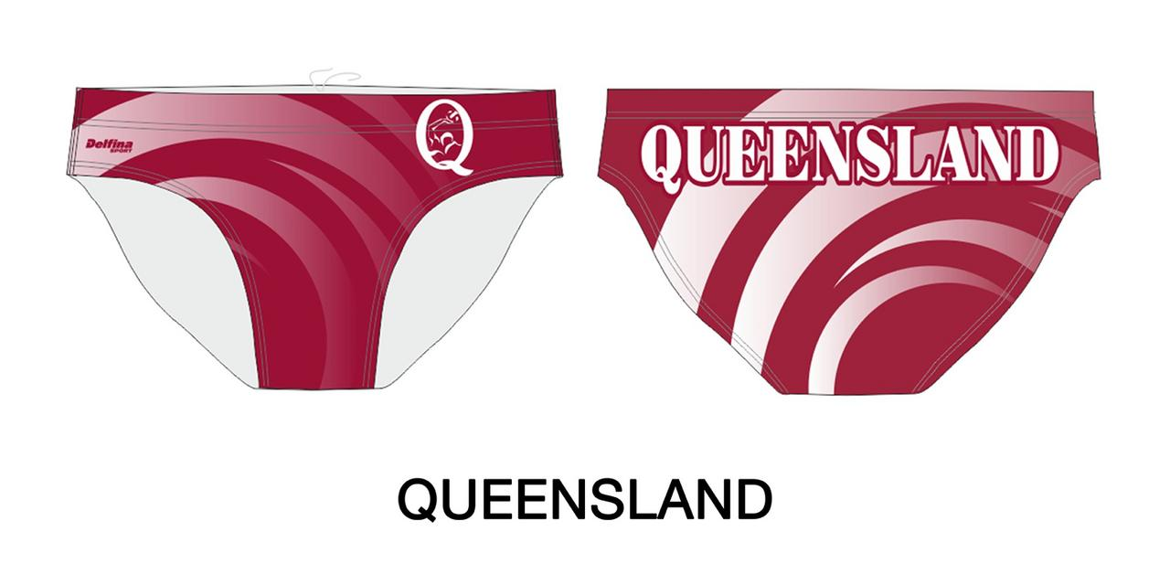 Gallery male water polo + swim brief 305