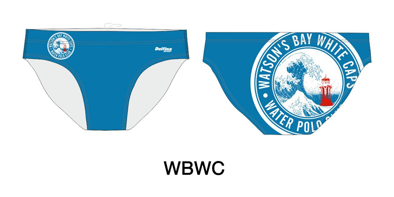 Gallery male water polo + swim brief 433