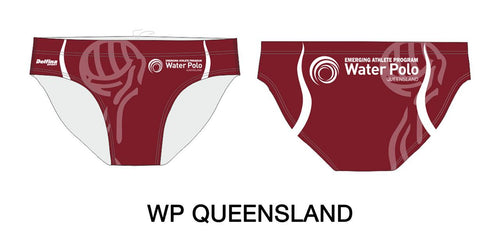Gallery male water polo + swim brief 490
