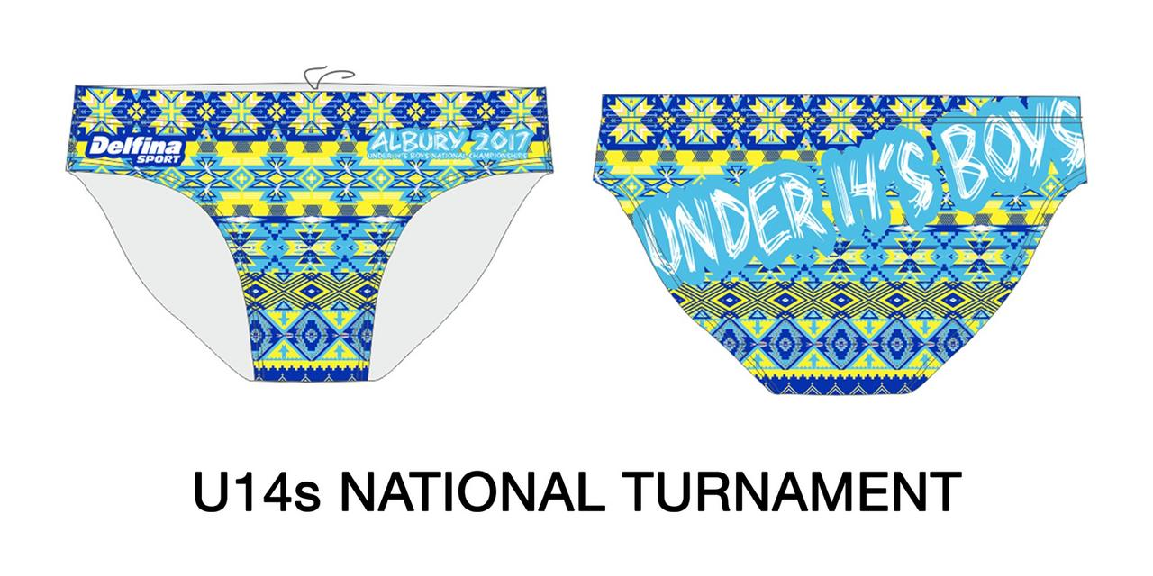 Gallery male water polo + swim brief 407