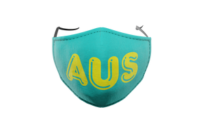 AUS Green Washable Face Mask