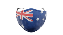 Load image into Gallery viewer, Australian Flag Washable Face Mask