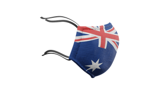 Australian Flag Washable Face Mask