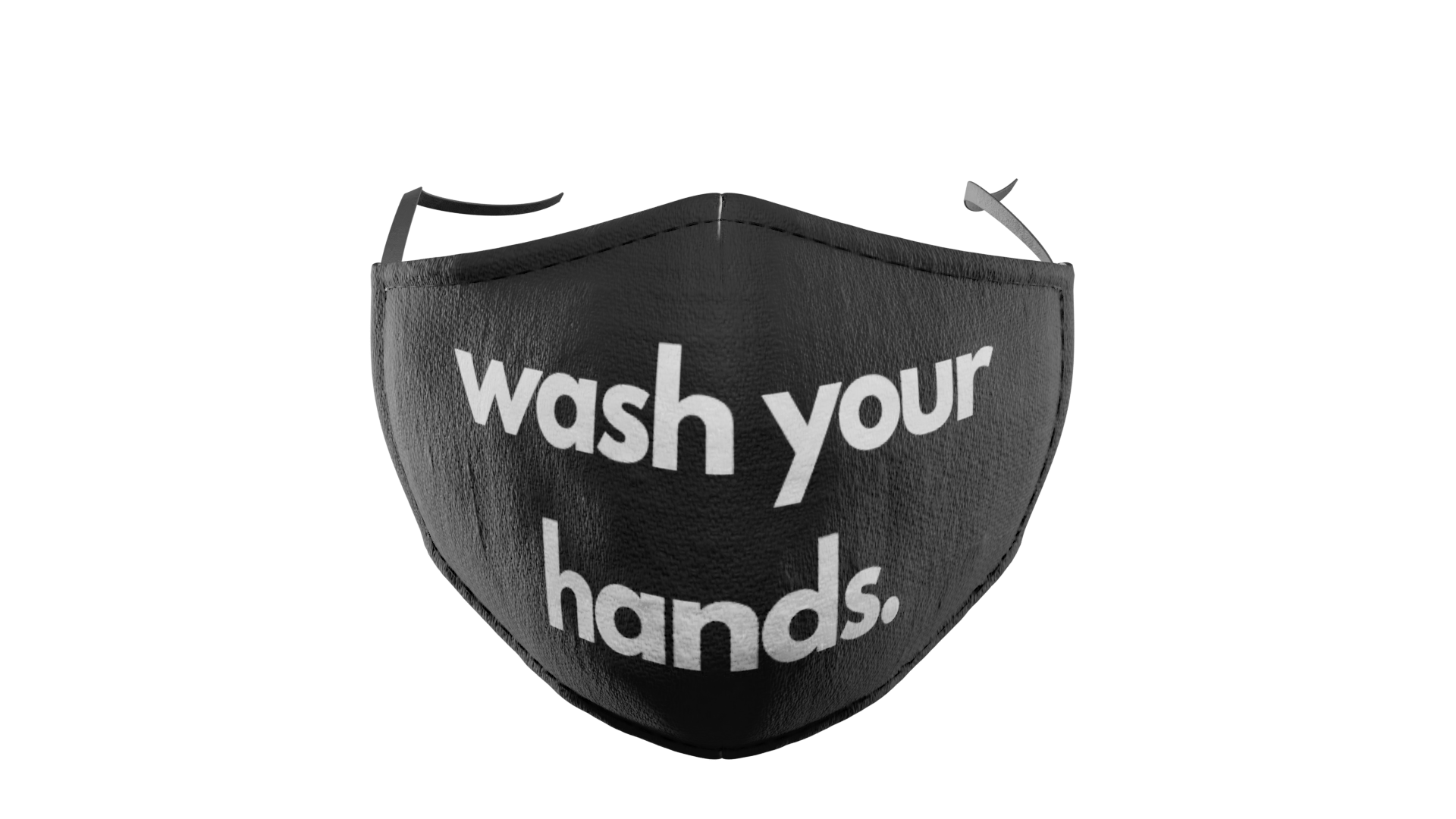 Wash Your Hands Washable Face Mask